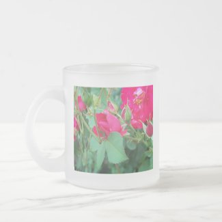 Rose Bud with Water Droplet Mug