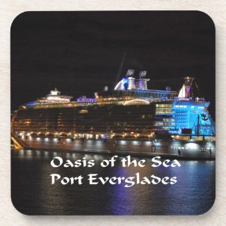 Royal Caribbean Oasis of the seas Drink Coaster