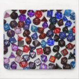 RPG Dice Mousepad
