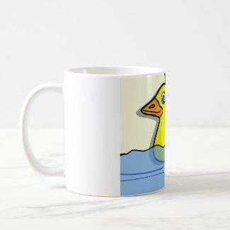 Rubber Duckie Mug mug