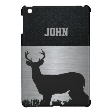 Rugged Antlered Deer Hunting Men Sports Case For The iPad Mini