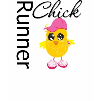 Runner Chick shirt