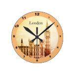 Rustic Big Ben Clock & London - Westminster
