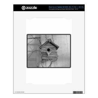 Rustic Birdhouse Skin For The Nook