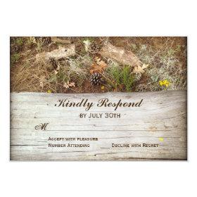 Rustic Camo Wedding Invitation Suite Deer Wood Diy Place Card Ideas Weddings Yo You 39 Re Gonna Wanna See This By Haziqahmurni