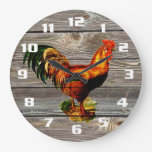 Rustic Country Rooster Kitchen