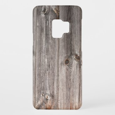 Rustic Faux Wood Texture Case-Mate Samsung Galaxy S9 Case