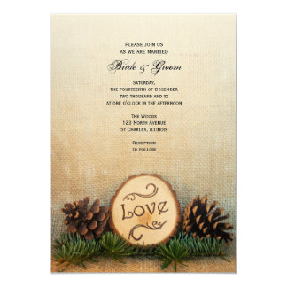 Woodland Wedding Invitation And Details Rsvp Card