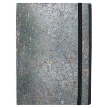 "Rusty Old Scrathed Grunge Metal Steel iPad Pro 12.9"" Case"