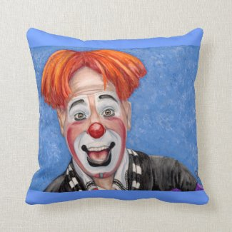 Ryan Combs Throw Pillow Pillows