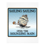 Sailing, Sailing - Over The Bounding Main letterhead