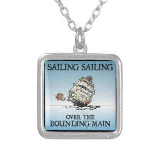 Sailing, Sailing - Over The Bounding Main Custom Necklace