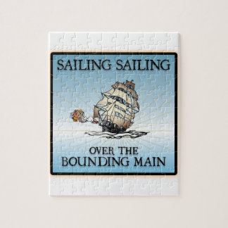 Sailing, Sailing - Over The Bounding Main Puzzle