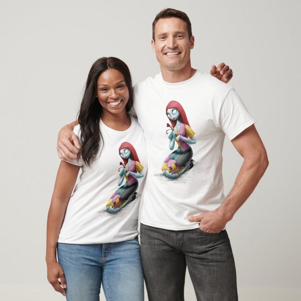 Couple Jack and Sally Christmas Hoodie