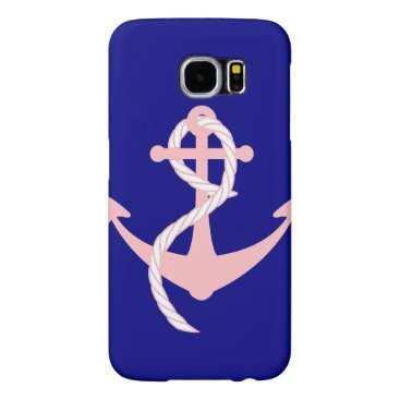 Samsung Galaxy S6 case with anchor and rope design