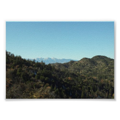 San Bernardino Mountains print