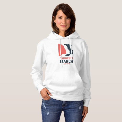 San Diego Women's March Hooded Sweatshirt