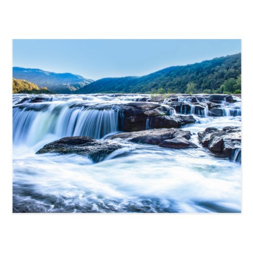 Sandstone Falls, West Virginia Postcard