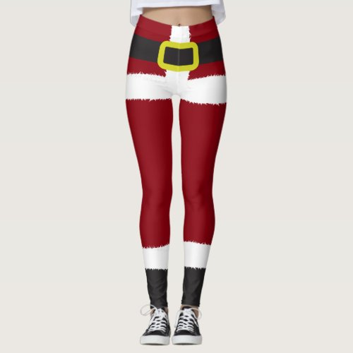 Santa Claus Novelty Christmas Leggings
