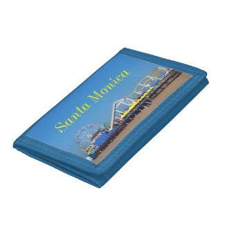 Santa Monica Pier Ferris Wheel Tri-fold Wallet