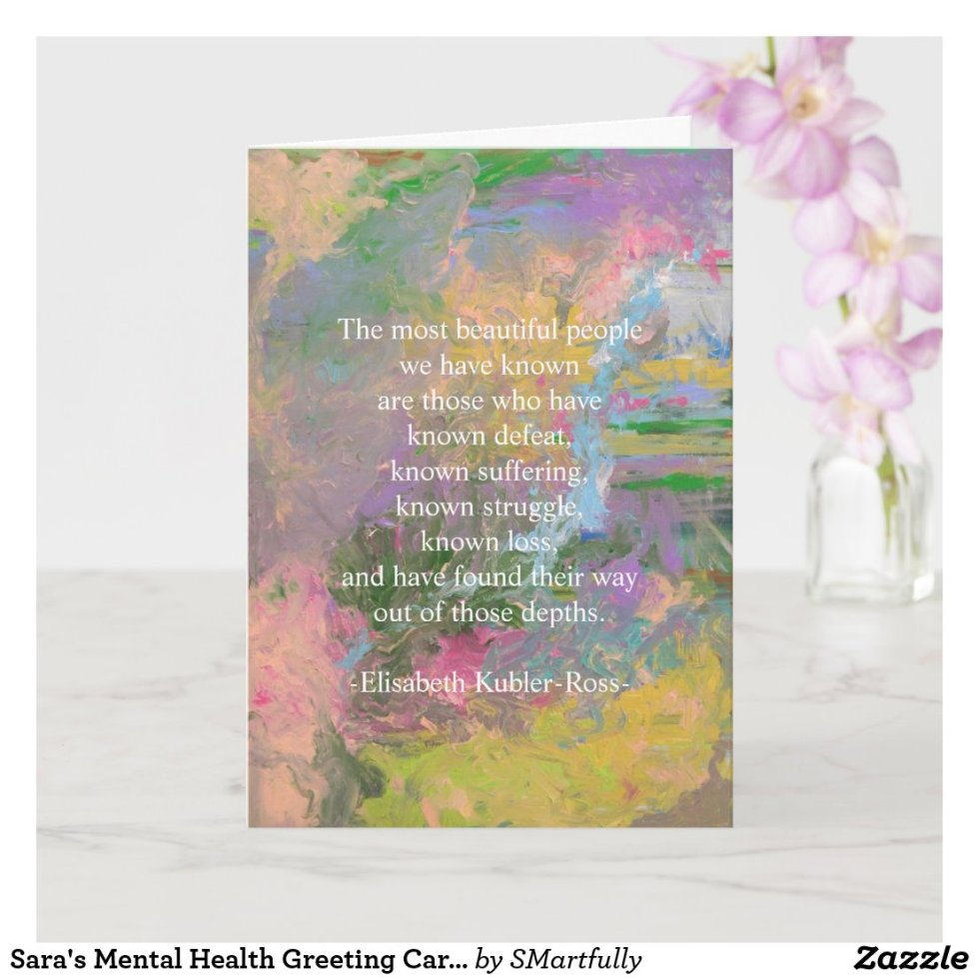 Sara's Mental Health Greeting Cards