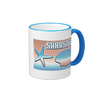 Sarasota Shells Coffee Mugs