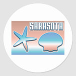 Sarasota Shells stickers