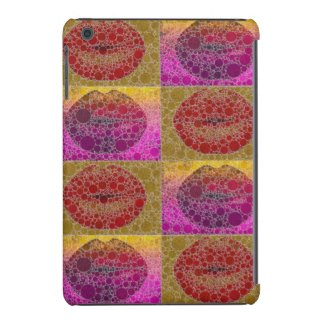 Sassy Abstract Lips Pop IPad mini case