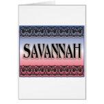 Savannah Scrollwork cards