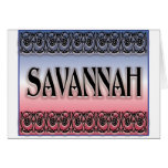 Savannah Scrollwork cards