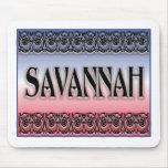 Savannah Scrollwork mousepads