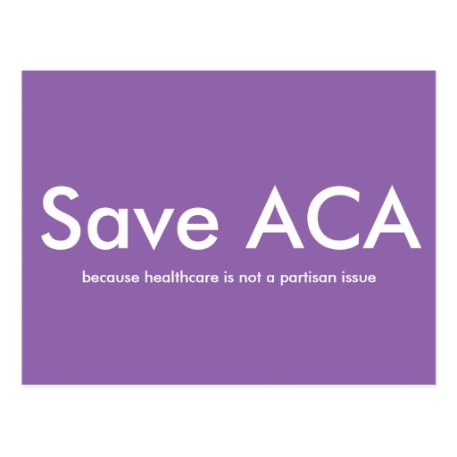 Save ACA Postcard