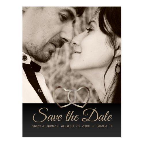 Save the Date - Anniversary - Diy Photo Postcard
