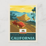 Save the Date | California 2 Invitation Postcard
