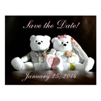 Save The Date I Do Bears