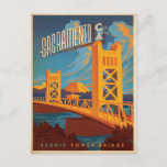 Save the Date | Sacramento, CA Announcement Postcard