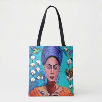 Scarlet Bluez Fancy Carry-All Tote