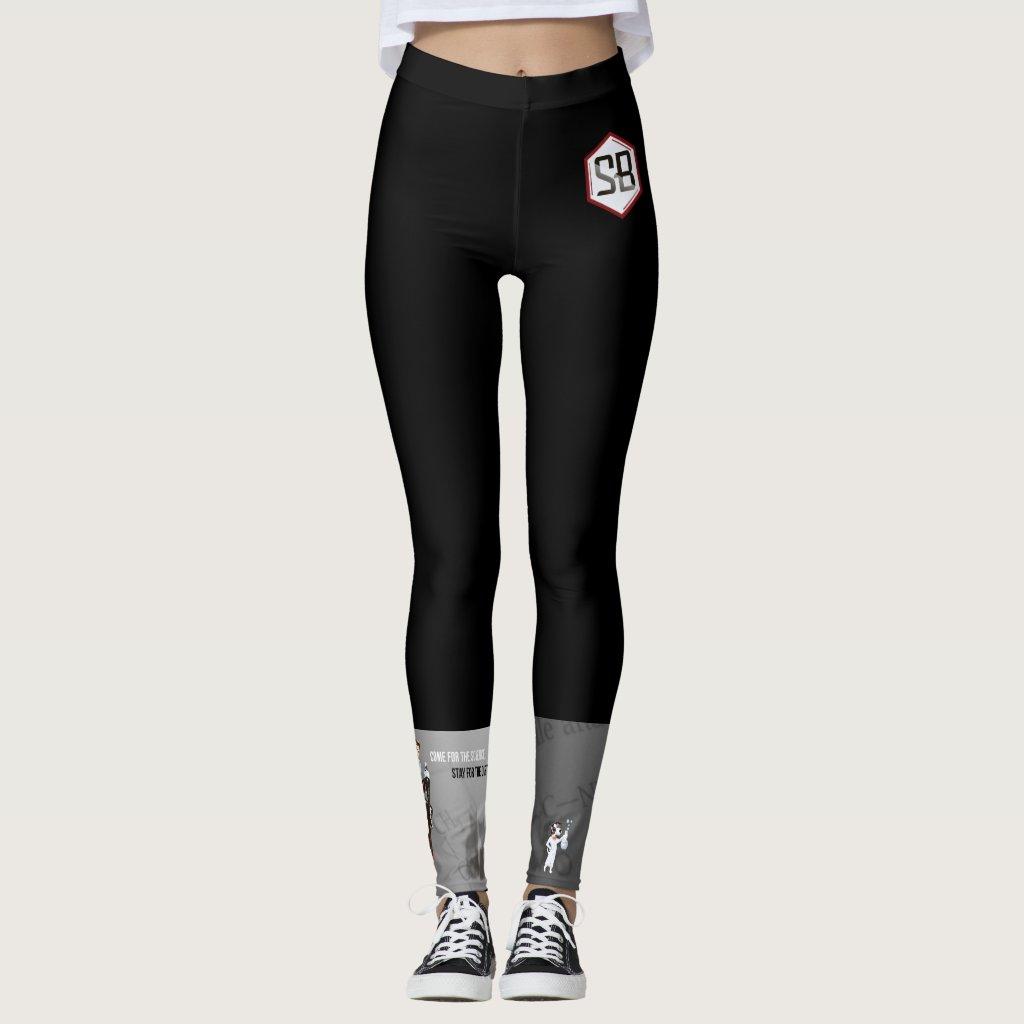 SciBabe Logo Leggings
