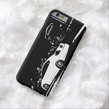 Scion TC side view - black and white art Barely There iPhone 6 Case