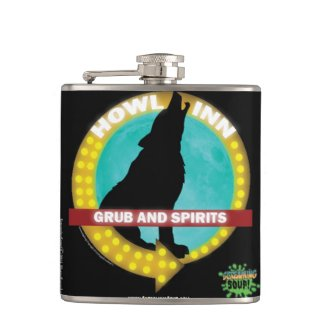 SCREAMING SOUP! Howl-Inn Grub and Spirits Flask