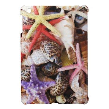 Sea Shells Starfish Colorful Shell iPad Mini Case