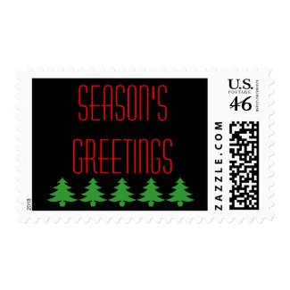 Season's Greetings stamps stamp