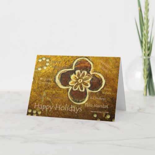 Seasons: International Holiday - Customizable Card card