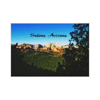 Sedona Arizona Gallery Wrap Canvas