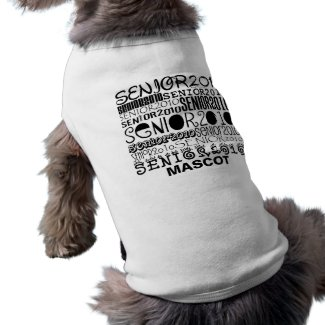 Senior 2010 Mascot Dog Shirt petshirt