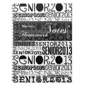Senior 2013 - Homework Notes Note Books