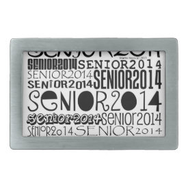 Senior 2014 - Belt Buckle