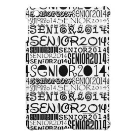 Senior 2014 iPad Mini Case