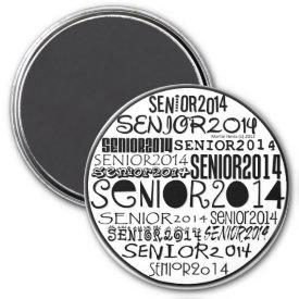 Senior 2014 Magnet