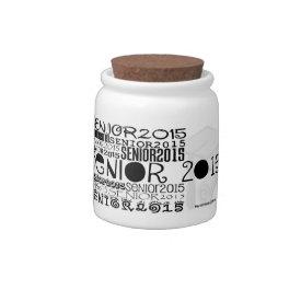 Senior 2015 Candy Jar (Personalize)